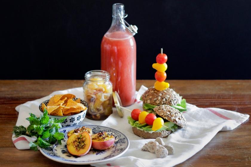 Piquenique Vegetariano - Vegetarian Picnic
